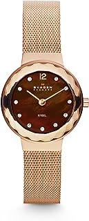 Skagen 456SRR1 Reloj Leonora, Análogo, Redondo para Mujer