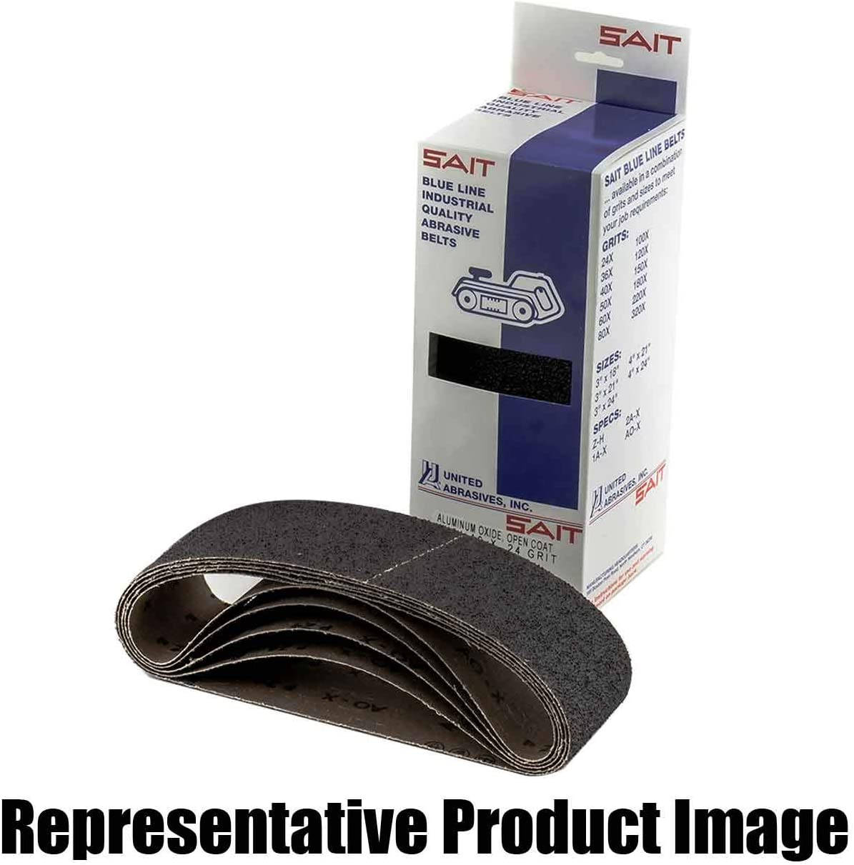 United ABRASIVES BL 25% OFF Belt 4 X Special Campaign 5 Each 58190 24 AO-X