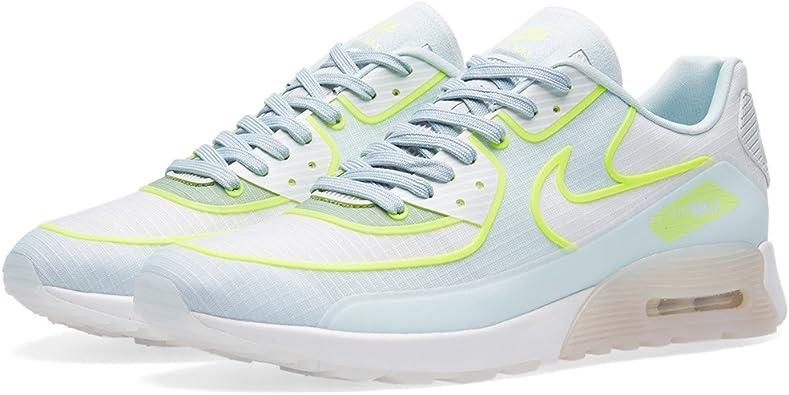Amazon.com | Nike Women's Air Max 90 Ultra 2.0 SI (12, White ...