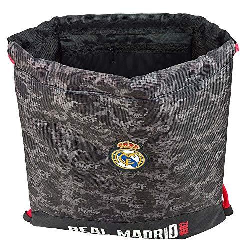 Real Madrid 2 Gymbag Saco-Mochila 35x40 Producto Oficial con Licencia