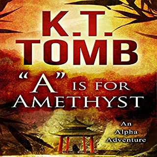 """""""A"""" is for Amethyst audiobook cover art"""