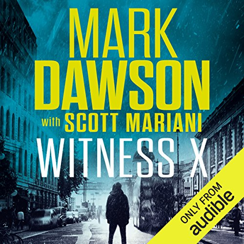 Witness X audiobook cover art
