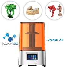 NOVA 3D Uranus Air UV LCD 3D Printer Assembled Innovation with 4.3'' Smart Touch Color Screen Off-line Print 51.18''(L) x 27.56''(W) x59.06''(H) Printing Size