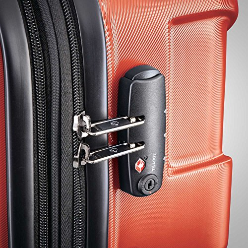 Samsonite Centric Hardside Luggage, Burnt Orange, Carry-On