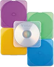 Verbatim CD/DVD Color TRIMpak Cases - 10pk, Assorted