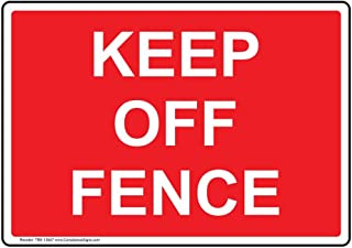 Best keep off fence sign Reviews