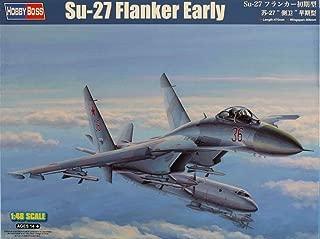 Hobby_Boss 1:48 Su-27 Flanker Early Plastic Aircraft Model Kit #81712
