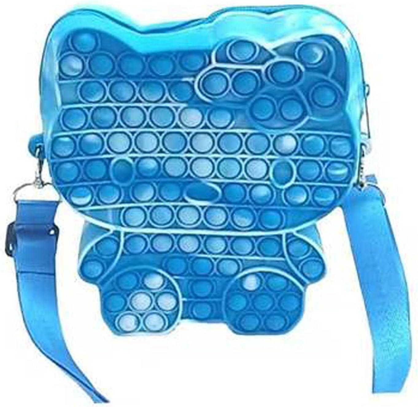 Pop Fidget Toys It Free shipping / New Crossbody Handbag Girls Women Sale Push Bubbl for