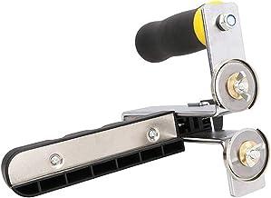NOBGP Cortador de Placa de Yeso Multifuncional de 2 Piezas, portátil, Tipo Rodillo de Empuje Manual, Herramienta de Tabla de Cortar Manual, Cortador de Placa de Yeso, para Placa de Espuma, cartón KT