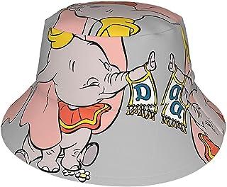 Lsjuee - Berretto regolabile per bambini, con panno da appendere al tronco, cappello da spiaggia, cappello a tesa larga, p...