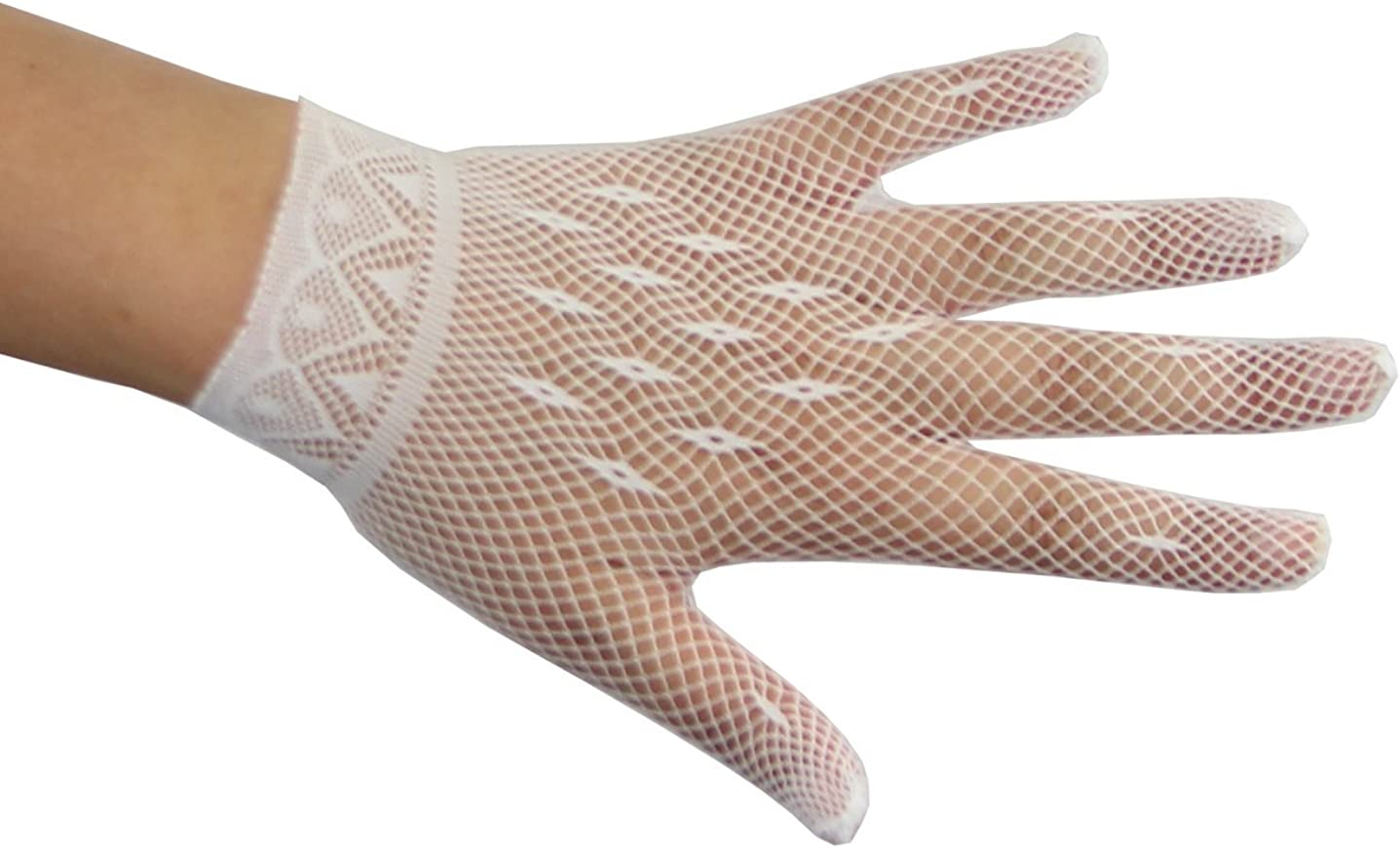 Lady of the Hour Stretchy Net Gloves