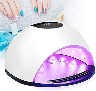 Lámpara Secador de Uñas, Winpok Lámpara LED Uñas Pantalla LCD Lámpara LED UV Uñas, 72W Con Sensor Automático Lampara uñas, 4 Temporizadores 10s, 30s, 60s y 120s