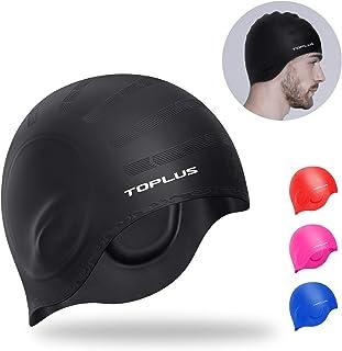 TOPLUS Swim Cap Women, Swimming Cap Waterproof Unisex...