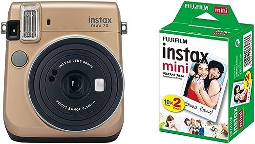 Fujifilm Instax Mini 70 Appareil Photo Instantané Bleu Kamera