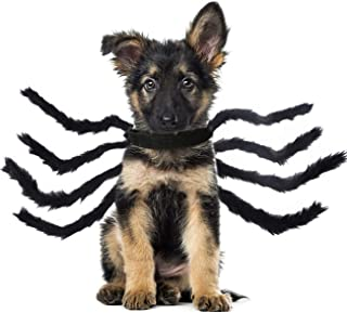 Changeary Halloween Cats Dogs Costume - Dog Spider Costume,Festival Pet Accessories Dress up...