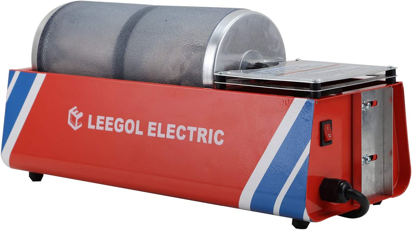 Leegol Electric Rock Tumbler Machine (Professional Double Barrel)