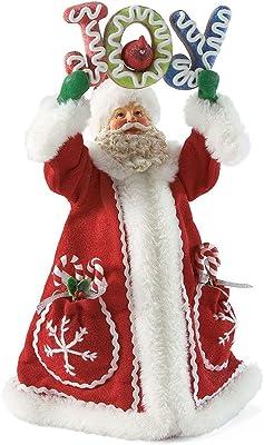 Department 56 Possible Dreams Joy Santa, 12 inch