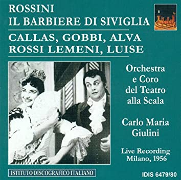 Rossini, G.: Barber of Seville (The) [Opera] (1956)