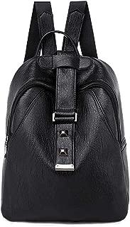 chinatera Mini Leather Backpack Purse for Women, Fashion Shoulder Bag Women Girls Ladies Backpack Travel Bag