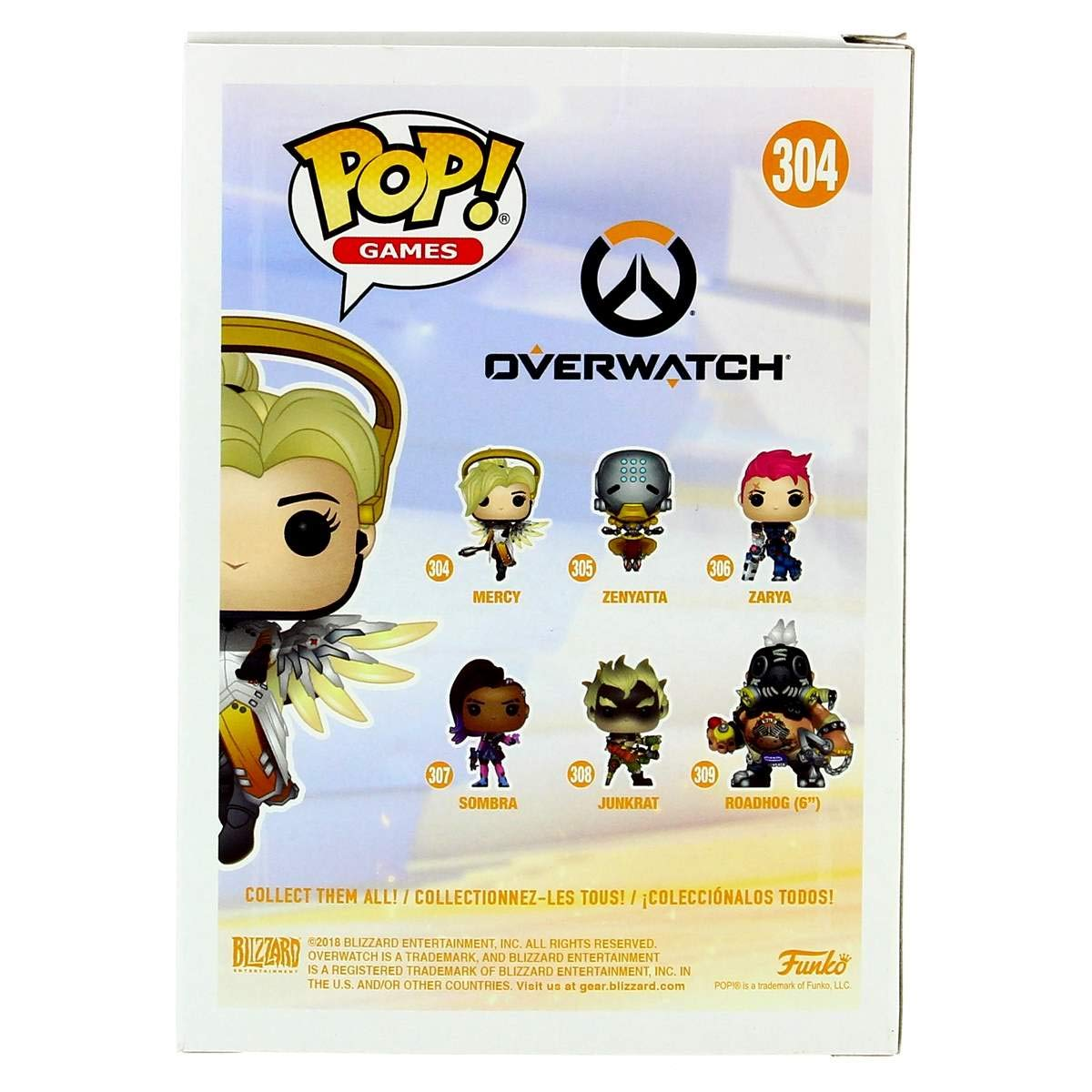 Funko Pop!- 29047 Mercy Figura de Vinilo, Multicolor: Funko Pop! Games:: Amazon.es: Juguetes y juegos
