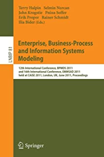 Enterprise, Business-Process and Information Systems Modeling (Lecture Notes in Business Information Processing)