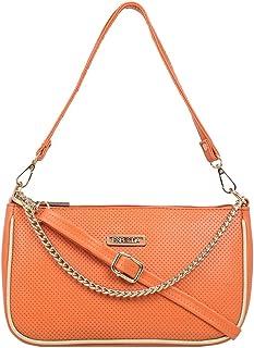 ESBEDA Orange Color Twill Sling Bag For Women-10567