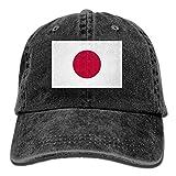 KLQ Cowboy Hat Adjustable Flag of Japan Baseball Cap Sunhat Peaked Cap