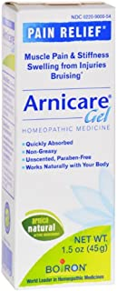Boiron Arnica Gel Homeopathic Medicine 1.50 oz (Pack of 6)