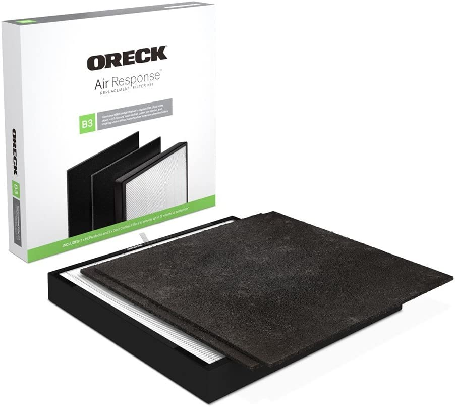 Oreck Certified HEPA Max 87% OFF Media + free Replacement Control Filter Kit Odor