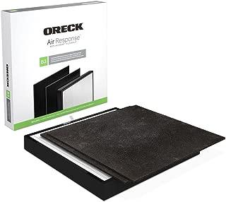 Oreck Certified HEPA Media + Odor Control Replacement Filter Kit Type B3 AK46002 for Air Response Large WK16002