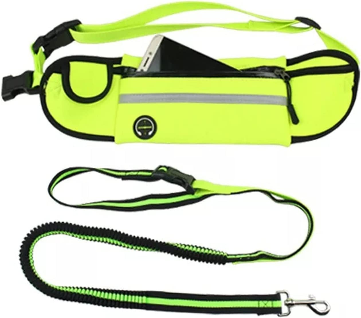 huiranmaoyi Hands-Free Max 77% OFF Dog Leash Pet Be super welcome Jogg Running and for