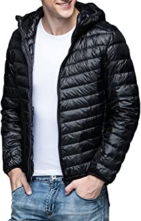 Ra&Do ダウンジャケット メンズ 軽量 防風 防寒 ダウン コート ライトダウン 収納袋付き R070