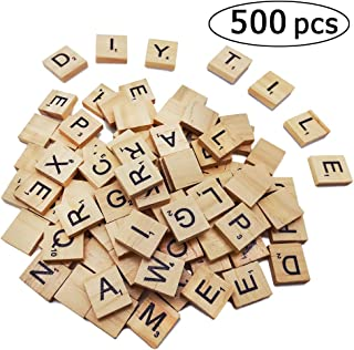 Best 100 wooden scrabble tiles Reviews