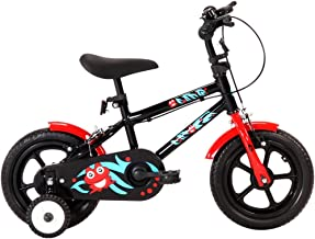 Bicicleta de Equilibrio con Pedales y Ruedas, para Niños de 2-4 Años, Ruedas 12 Pulgadas