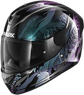 SHARK Herren NC Motorrad Helm, schwarz, S