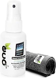 Ecomoist KIT De Nettoyage 50Ml + Serviette en microfibres extra fines 100% de fines herbes Aucun produit chimique, Pas d'a...