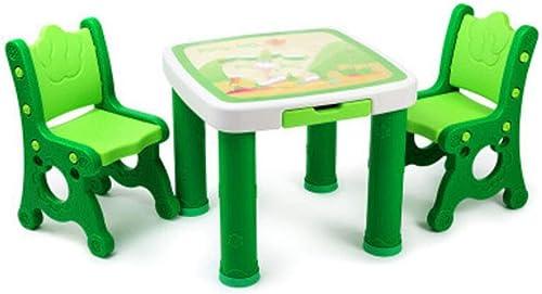 diseño único Juego de sillas para mesa de actividades Mesa de estudio estudio estudio y silla para Niños Juego de mesa de madera para bebés Juego para Niños pequeños Juego Mesa de dibujo Silla para Niños Mesa de escritorio para j  Envío rápido y el mejor servicio