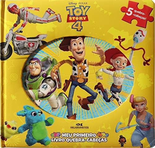 Toy Story 4 – Meu Primeiro Livro Quebra-Cabeças