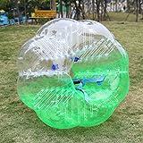 Yukio bumper Ball gonfiabile, body Zorb Ball Bubble Soccer Suit TPU Bubble Football Loopy Ball for Team Play, grün