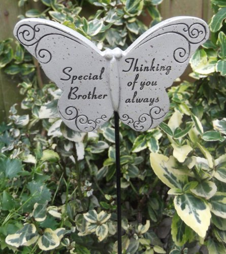 Memorial Butterfly Special Brother Graveside Ornament