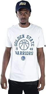 CAMISETA NBA GOLDEN STATE WARRIORS ESSENTIALS PLAY OFF WHITE OFF WHITE NEW ERA