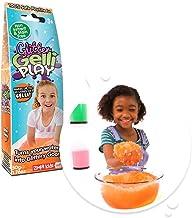 Zimpli Kids Certified Biodegradable Toy Turn water into colourful goo Glitter Gelli Play, Orange, 1 Pack