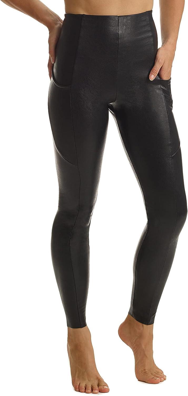 commando Faux Leather Pocket Leggings SLG64