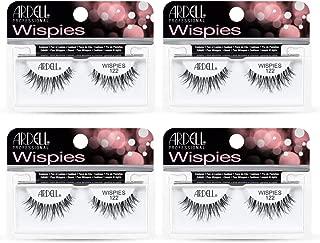 Ardell False Eyelashes Wispies 122 Black (4 Pack)
