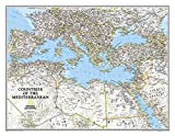 Mediterranean Region Classic, Tubed: Wall Maps - Countries & Regions (National Geographic Reference Map)