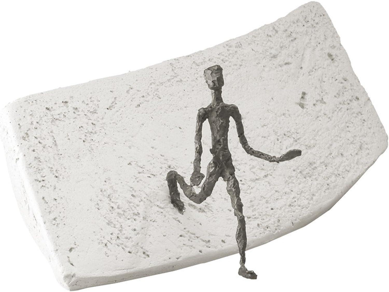Neue Wege gehen - Ktt-Grtner Luise - Bronze Skulptur
