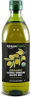 AmazonFresh Organic Extra Virgin Olive Oil, 500 ml (16.9 FL OZ)