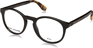 Marc Jacobs Marc 352 807 Black Plastic Round Eyeglasses 49mm