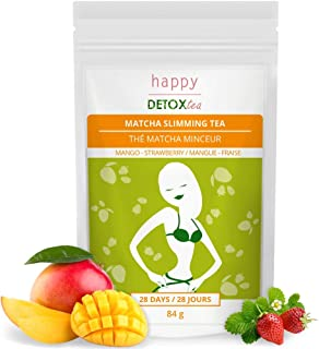 Té Matcha De Mango Y Fresa para Adelgazar - Happy Detox Tea