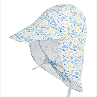 GULIQ Kids Baby Summer Hat Breathable Swim & Sun Flap Hat   All-day, UPF 50+ sun protection-wet or dry